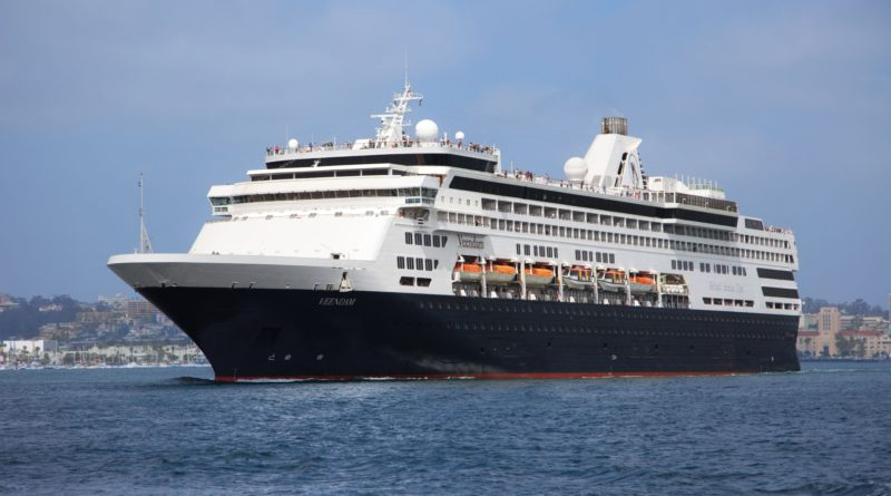 Cruise and Travel Report Veendam leaving San Diego