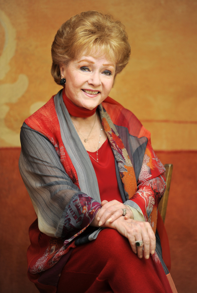 Debbie Reynolds Seated