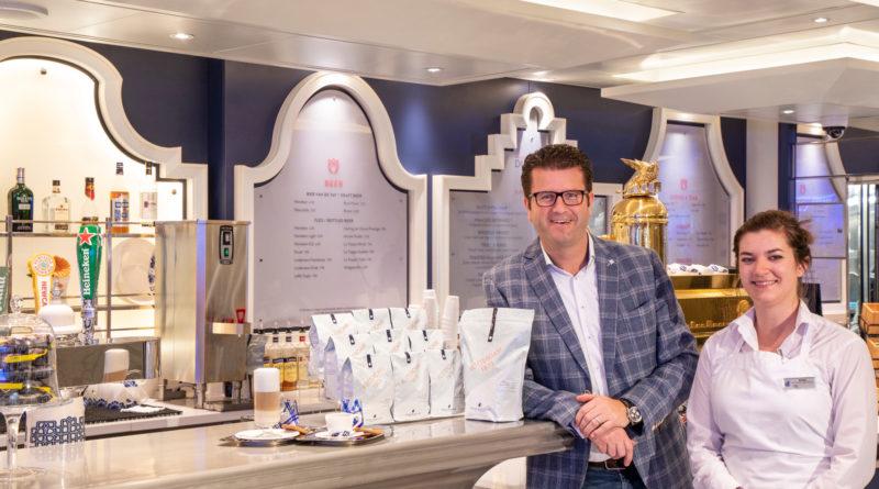 Holland America Unveils Exclusive Rotterdam 1873 Coffee in Partnership with Beukenhorst