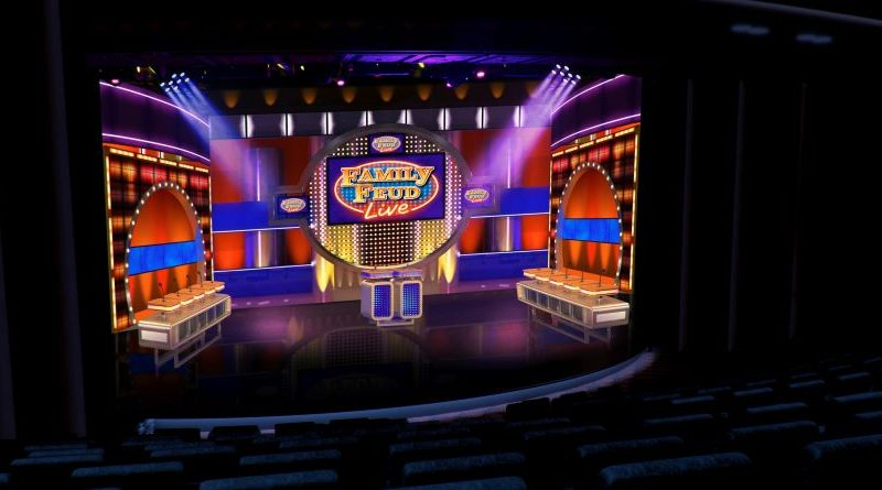 FAMILY FEUD LIVE™ To Debut On Carnival Cruise Line's Mardi Gras
