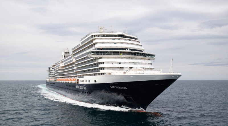 Holland America Line's New Rotterdam Successfully Sails Through Sea Trials in Italy