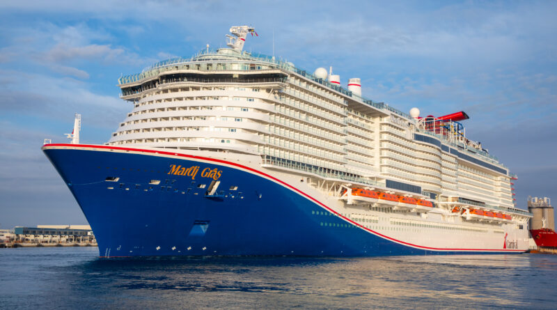 Mardi Gras, Carnival's Newest & Most Exciting New Ship Makes U.S. Debut