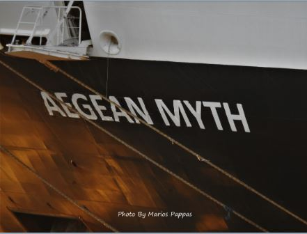 Holland America's Maasdam is now the Aegean Myth, Joins Twin, Aegean Majesty