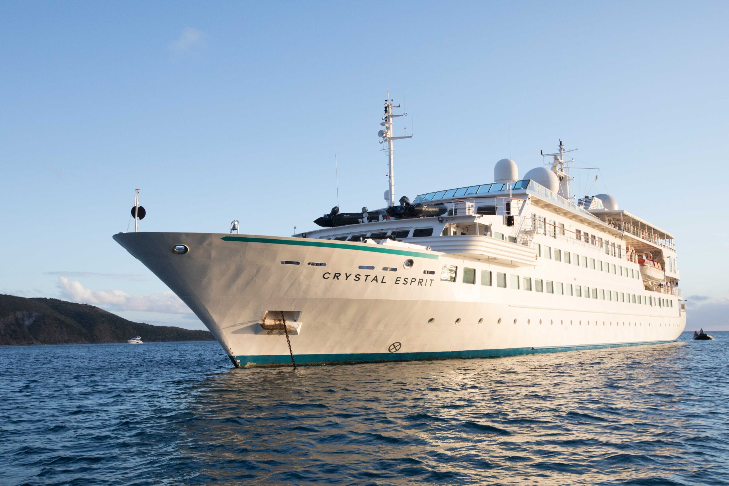 Crystal Esprit Voyages Now Open for Reservations for 2023 through Early 2024