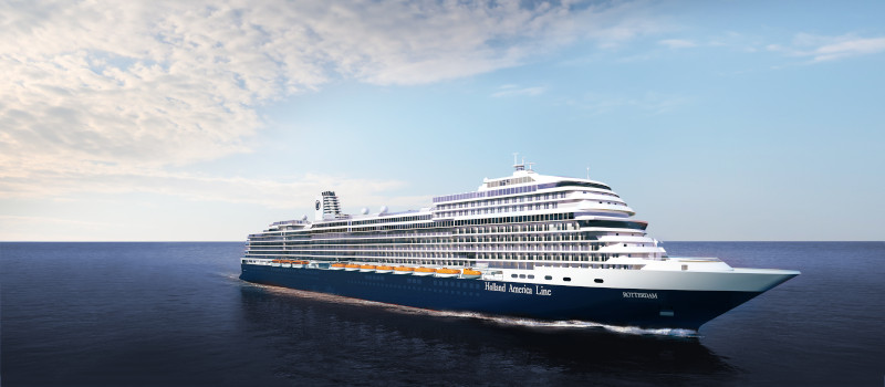 Holland America's New Flagship Rotterdam VII Closer to Completion for 2021 Premiere