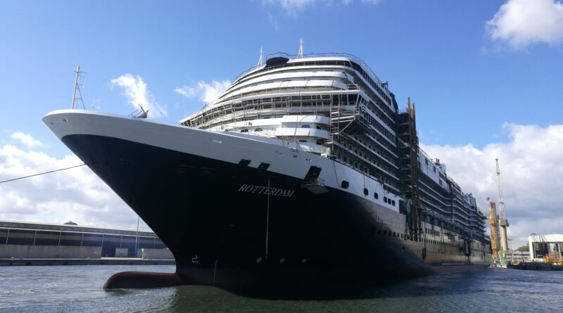 Holland America's Next Rotterdam Reaches Another Milestone